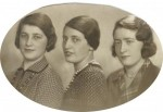 Trudel, Erna and Lotte - 1932